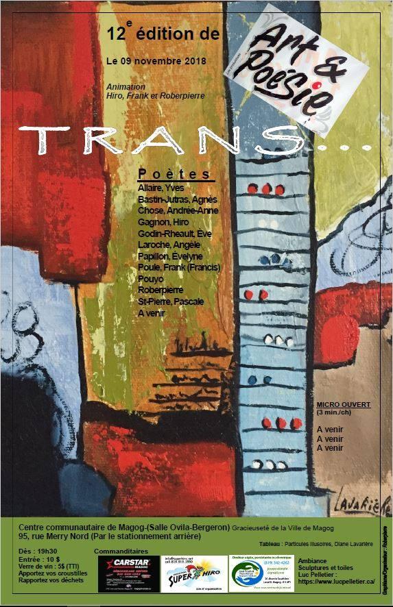 12e édition de Art et Poésie